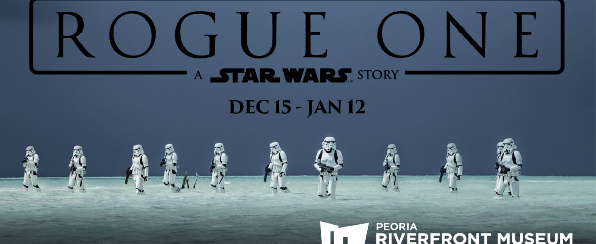 Celebrate 'Rogue One: A Star Wars Story' with Coffee With Kenobi and Peoria Riverfront Museum!