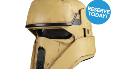 NOW AVAILABLE! The ROGUE ONE: A STAR WARS STORY Shoretrooper Helmet Accessory