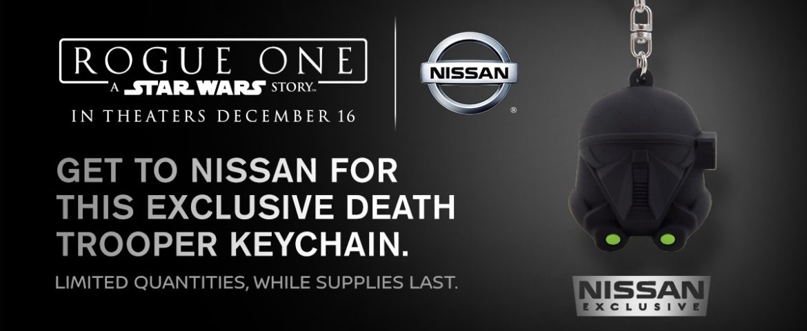 Nissan Unboxes the 2017 Nissan Rogue: Rogue One Star Wars Limited Edition; Exclusive Death Trooper Keychain Offer