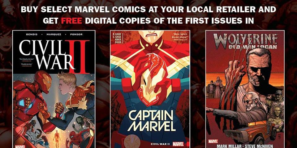 MARVEL COMICS UPDATES ITS DIGITAL CODE PROGRAM AND INTRODUCES BONUS DIGITAL COMICS