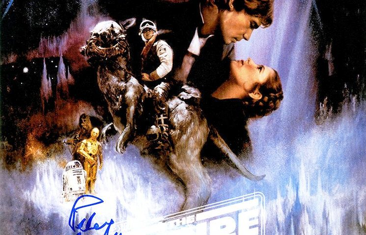 """Win a Peter Mayhew Autographed """"The Empire Strikes Back"""" Poster from Steiner Sports!"""