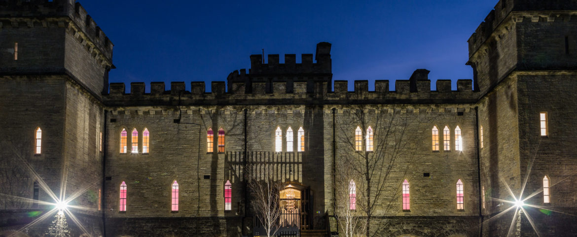 Ultimate Workspace in a Refurbished Victorian Castle Features a Star Wars-Themed Cinema