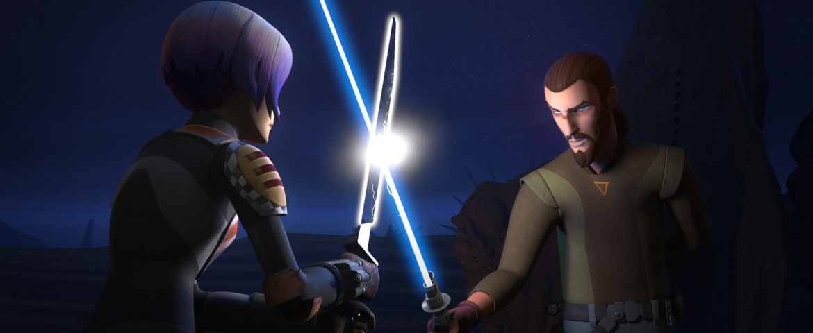 "Sabine's Darksaber Training Begins in the Next Episode of ""Star Wars Rebels"""