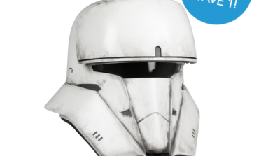 Now Taking Reservations for ROGUE ONE: A STAR WARS STORY Imperial Tank Trooper Helmet Accessory