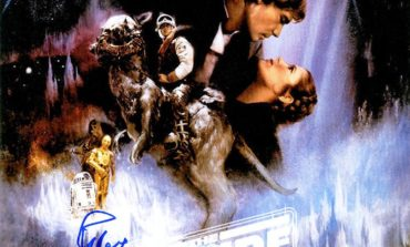 """Enter to Win a Peter Mayhew Autographed """"The Empire Strikes Back"""" Poster"""