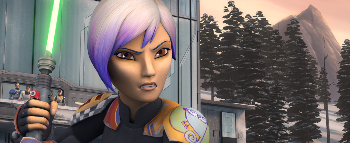 Star Wars Rebels Returns and Sabine's Story Continues – This Saturday!