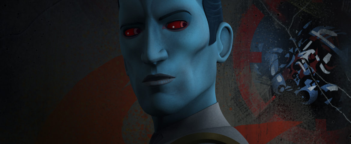 "Thrawn Closes In On Fulcrum In The Next Episode of ""Star Wars Rebels"""