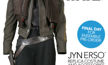 Last Day to Pre-Order: Rogue One Jyn Erso Costume Ensemble from ANOVOS