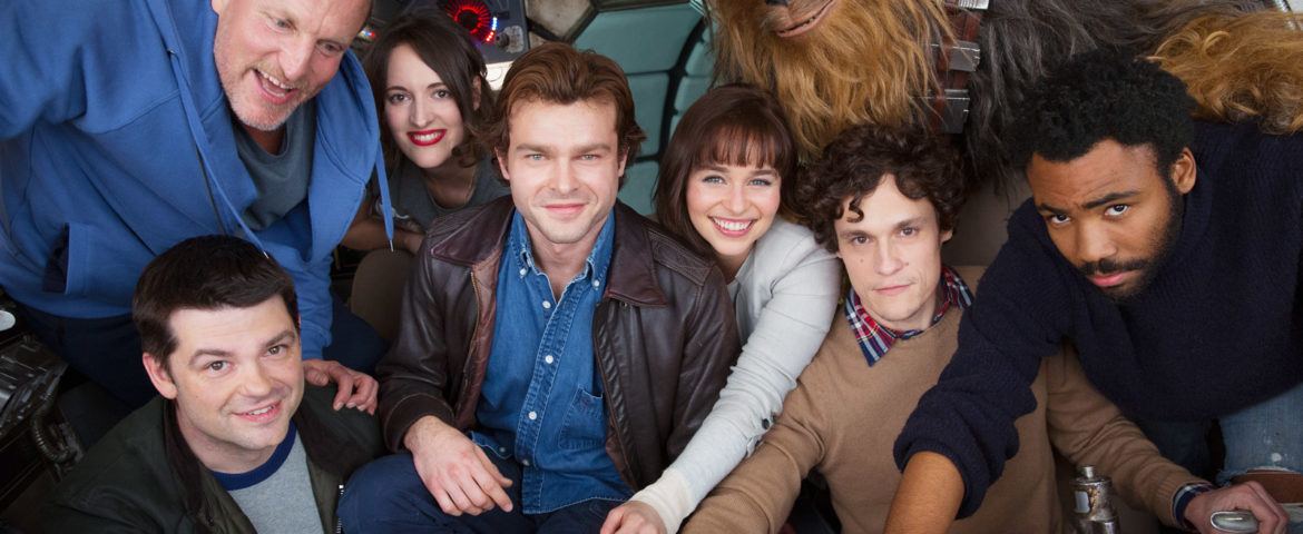 Filming Officially Underway on the Han Solo Standalone Film; Cast Confirmed