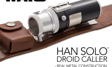 Now Shipping -- Star Wars Han Solo Droid Caller from Anovos