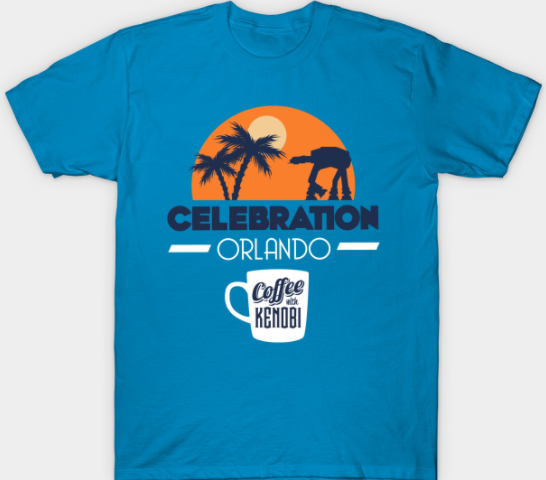 Celebration Orlando Coffee With Kenobi Tees & Hoodies Available Now!