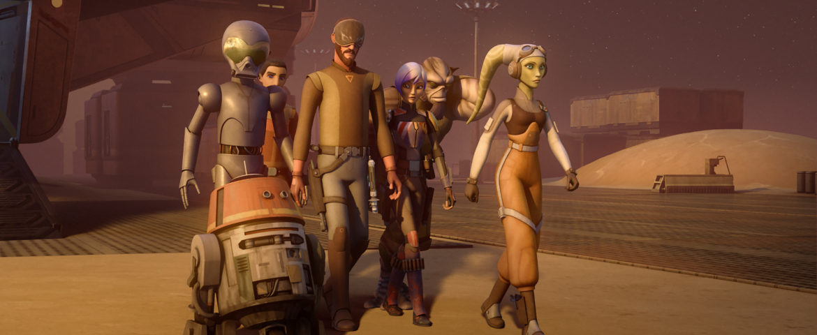 """""""Star Wars Rebels"""" Returns for a Fourth Season This Fall!"""