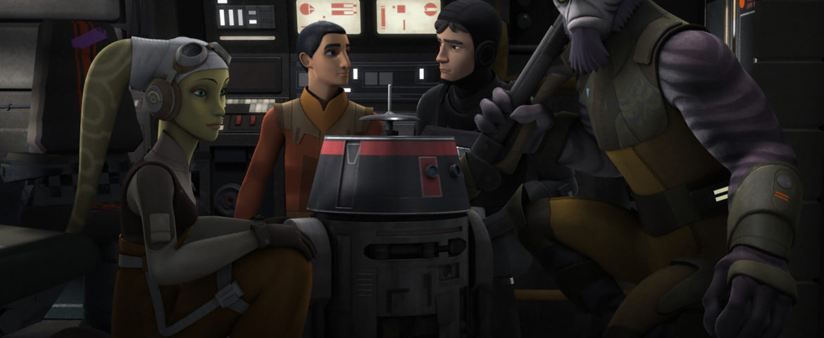 """Something's Wrong With Chopper In The Next Episode Of """"Star Wars Rebels"""""""