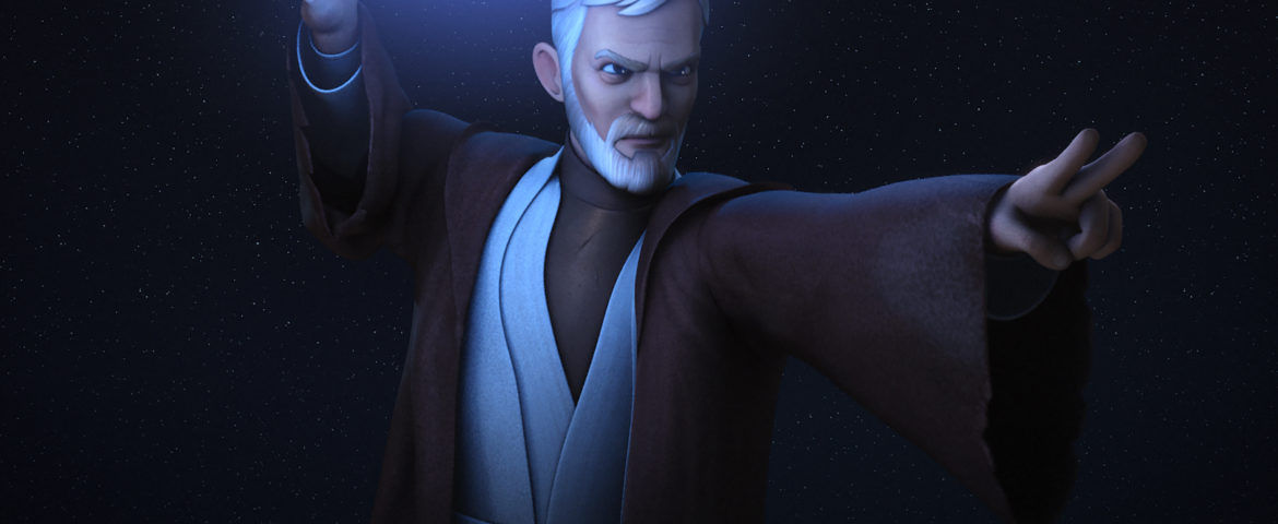 "Obi-Wan Kenobi and Maul Meet Again in ""Star Wars Rebels"""