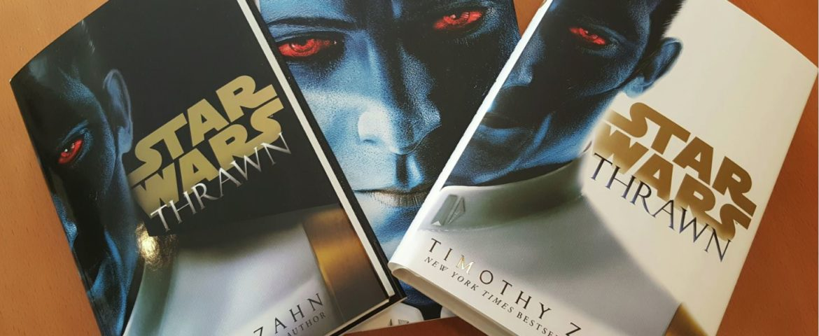 There Will Be Three Distinct Editions/Covers for 'Star Wars: Thrawn'