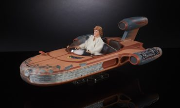 New Black Series X-34 Landspeeder and 6-Inch Luke Skywalker Revealed by Hasbro