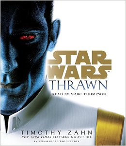 Audiobook Review: Thrawn by Timothy Zahn, Narrated by Marc Thompson