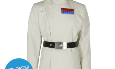 Star Wars Imperial Admiral Tunic Available for Pre-order Now from Anovos