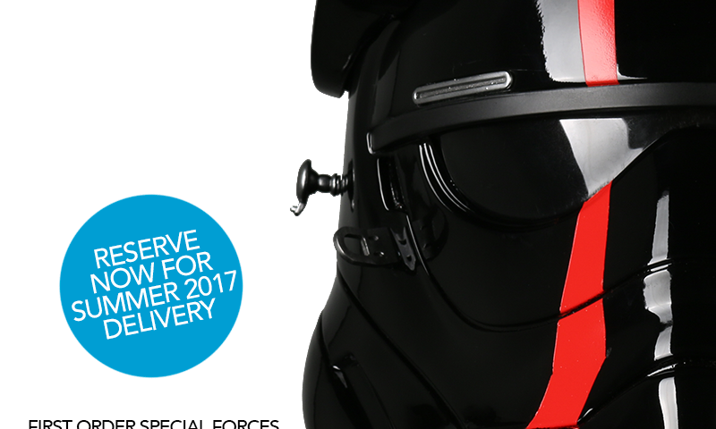 Star Wars Special Forces TIE Pilot Helmet Accessory at Introductory Pricing! TODAY ONLY!