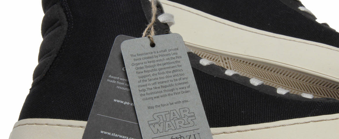 Behind-the-Scenes Look at the Po-ZU Footwear Star Wars Collection
