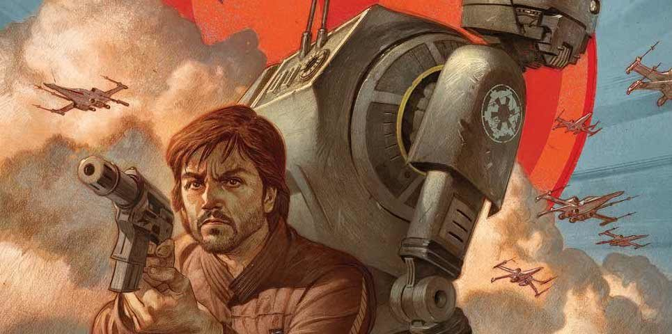 Marvel Comics Announces Star Wars: Rogue One – Cassian & K-2SO Special #1
