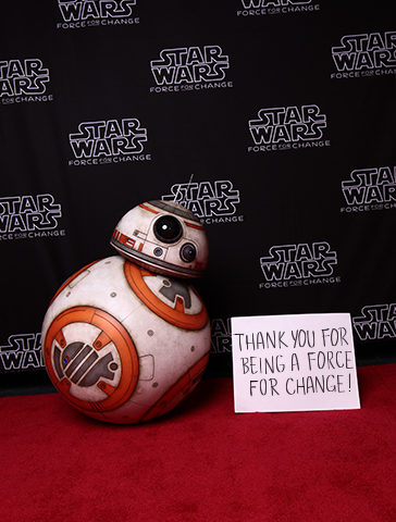 Thank You For Donating to the 'Star Wars: Force for Change' 40th Anniversary Campaign