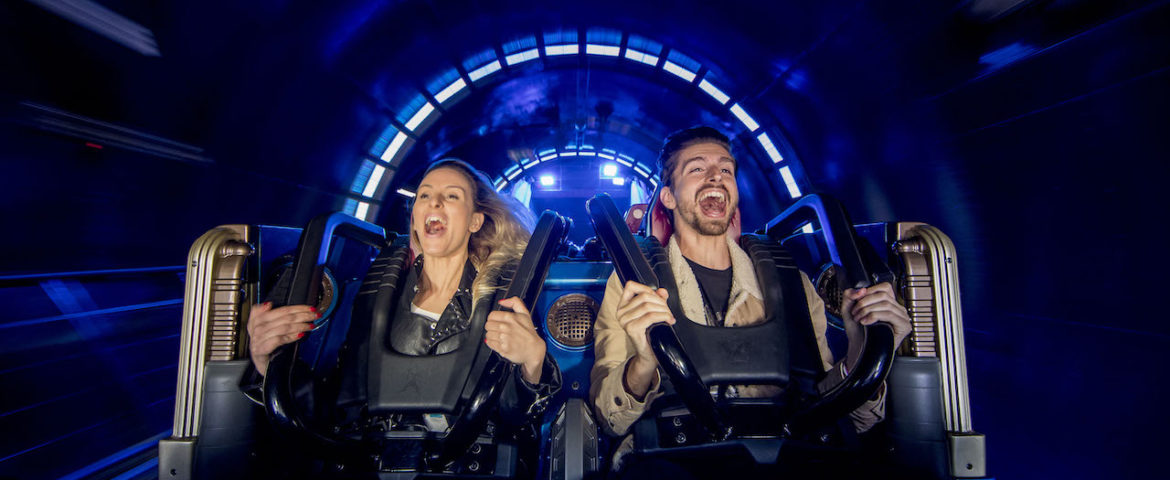 Star Wars Hyperspace Mountain Now Open at Disneyland Paris