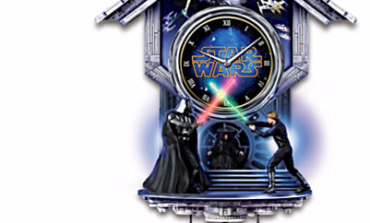 Enter to Win the Sith vs. Jedi Wall Clock from The Bradford Exchange! Details inside!