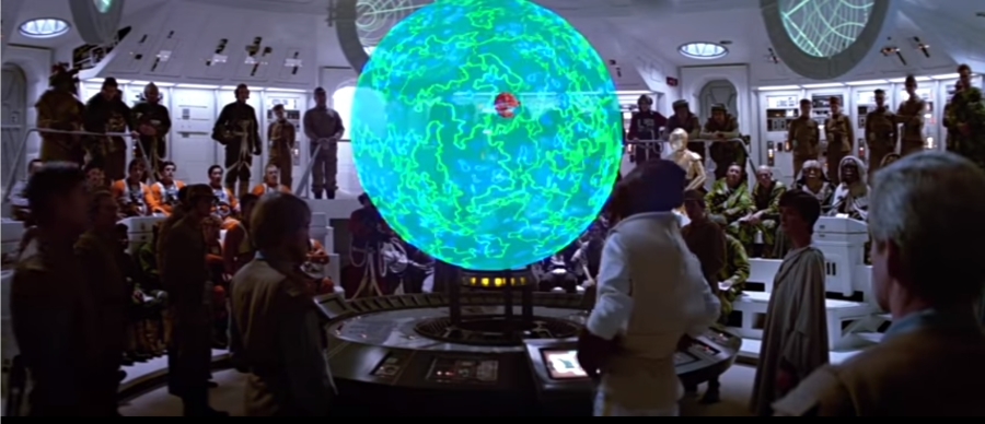 The Death Star Attack Briefing Room