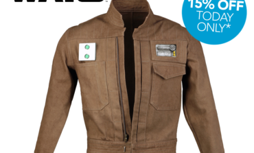 Rogue One: A Star Wars Story Cassian Andor Field Jacket Pre-Order -- 15% Off Today Only from Anovos!
