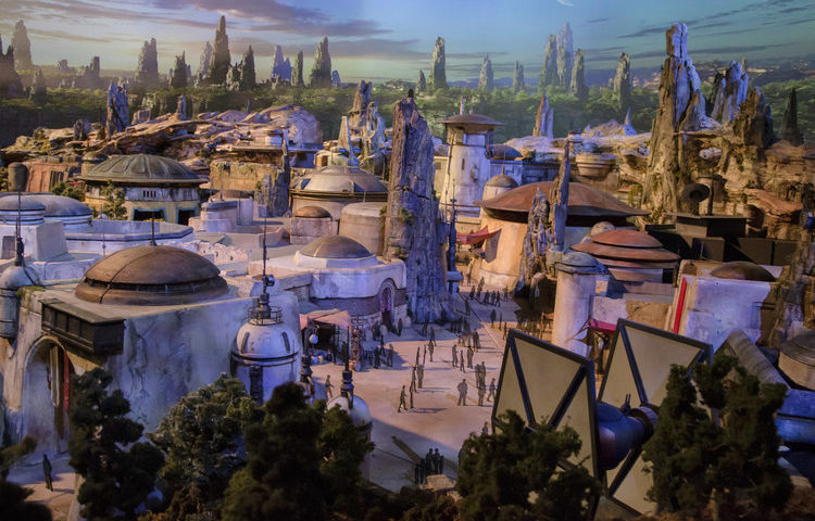 Disney's Hollywood Studios Celebrates Star Wars Galaxy's Edge Construction Milestone