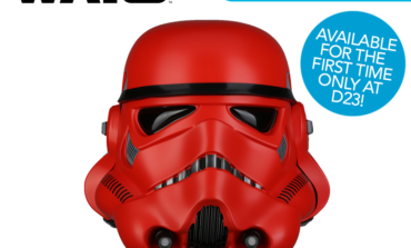 D23 Exclusive Star Wars Crimson Stormtrooper Helmet from Anovos