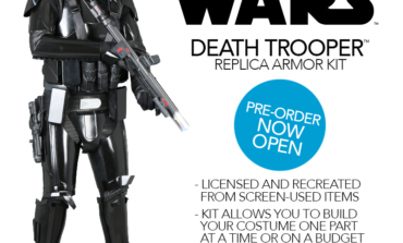 Introducing the Limited Run of Star Wars Death Trooper Replica Armor Kits from Anovos