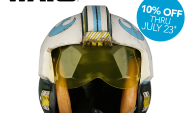 'Rogue One: A Star Wars Story' General Merrick Blue Squadron Helmet Available Now from Anovos