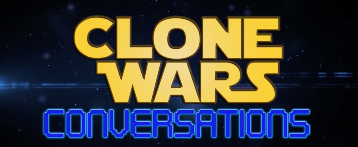 "Clone Wars Conversations Episode 10 with James Arnold Taylor and Angelique ""Adi Gallia"" Perrin"