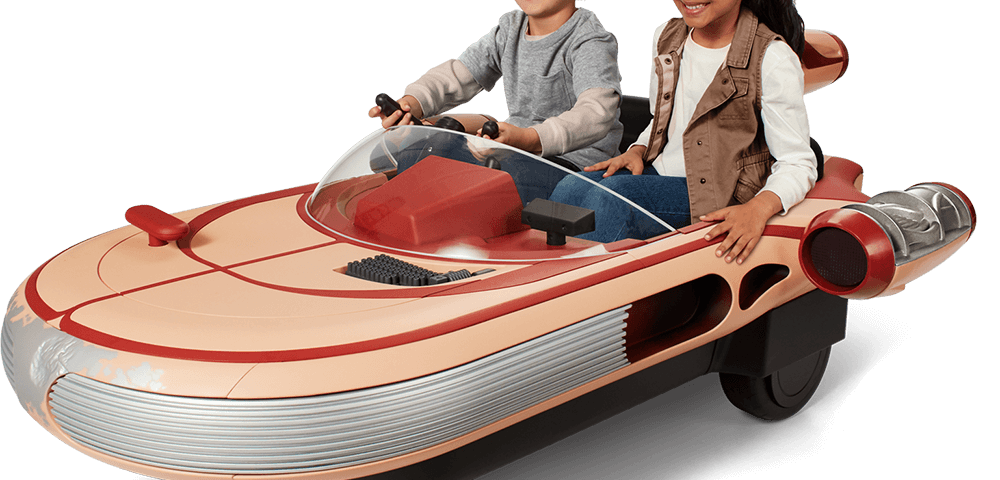 Introducing Luke Skywalker's Kid-Sized Landspeeder by Radio Flyer