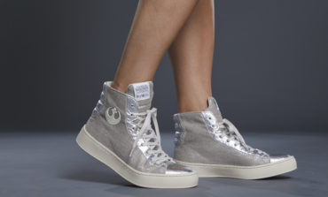 Star Wars | Po-Zu releases its first Limited Edition Women's High-Top Silver Resistance Sneaker