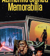 Special Discounts on Authentic Signed Star Wars Memorabilia and More from Steiner Sports!