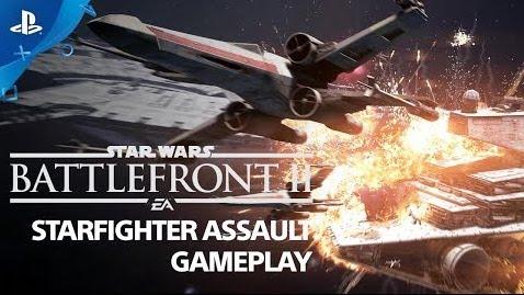 [VIDEO] Star Wars Battlefront II – Starfighter Assault Gameplay Demo | PS4