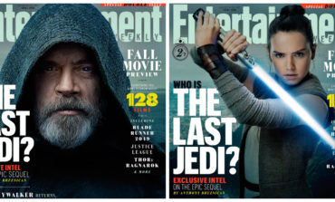 Entertainment Weekly Reveals 'Star Wars: The Last Jedi' Exclusive Covers and All-New Images **UPDATED**