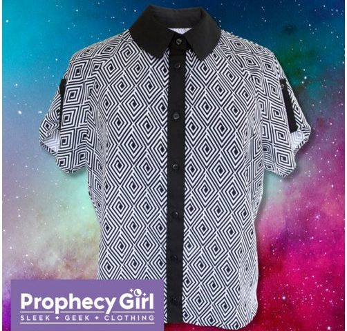 "Core Worlds Couture: ""Prophecy Girl"" Shirt Review"