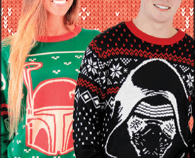 Enter to Win an Ugly Star Wars Christmas Sweater in the New Coffee With Kenobi Giveaway!