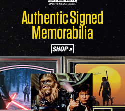 Pre-Black Friday Sale at Steiner Sports! Great Deals on Star Wars Memorabilia and More!