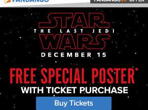 Purchase 'Star Wars: The Last Jedi' Tickets Now via Fandango