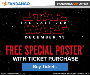 Purchase 'Star Wars: The Last Jedi' Tickets Now via Fandango