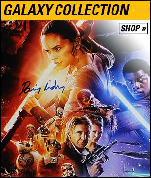 Shop Steiner Sports for Authentic Signed Star Wars Items and More; Special Discounts Available Now!