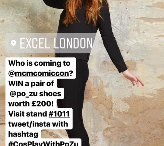 Win a Pair of Shoes from Po-Zu at MCM London Comic-Con