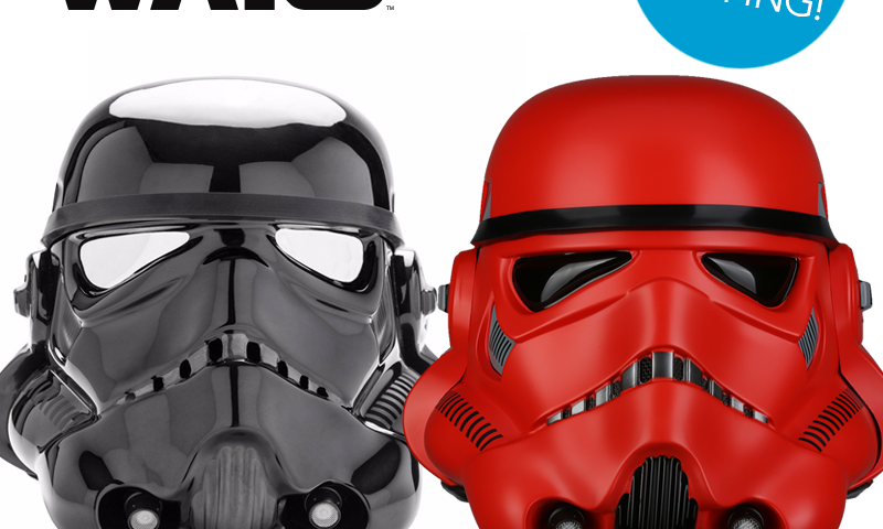 Various Star Wars Helmets Now In-Stock And Shipping from Anovos