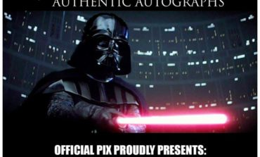 Official Pix Announces Their Final Dave Prowse Signing Opportunity