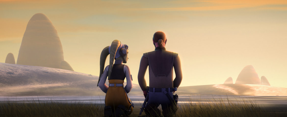 """Star Wars Rebels: Rebels Recon for """"Kindred"""" and Crawler Commandeers"""""""